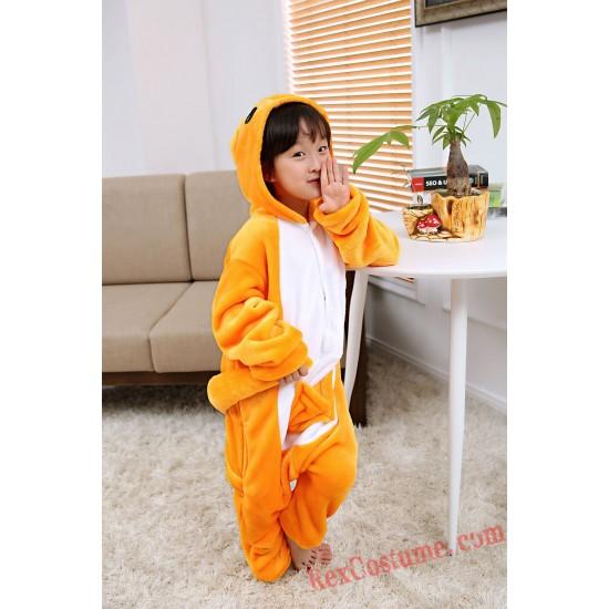 kangaroo Kigurumi Onesie Pajamas Cosplay Costumes for Kids