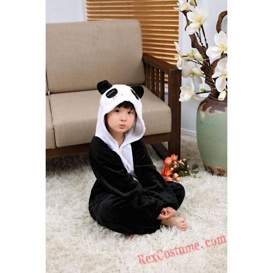 panda Kigurumi Onesie Pajamas Cosplay Costumes for Kids