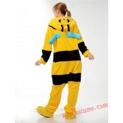 Adult bee Kigurumi Onesie Pajamas Cosplay Costumes