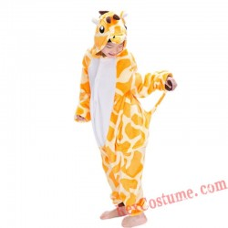 giraffe Kigurumi Onesie Pajamas Cosplay Costumes for Kids