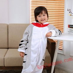 Cheese cat Kigurumi Onesie Pajamas Cosplay Costumes for Kids