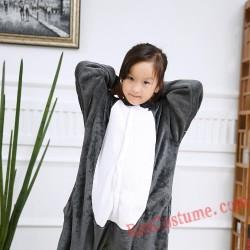 Lemur Kigurumi Onesie Pajamas Cosplay Costumes for Kids