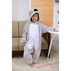 Koala Kigurumi Onesie Pajamas Cosplay Costumes for Kids