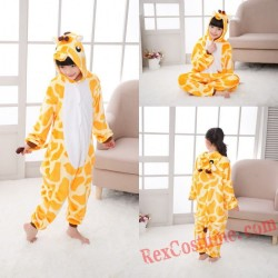 giraffe Kigurumi Onesie Pajamas Cosplay Costumes for Kids