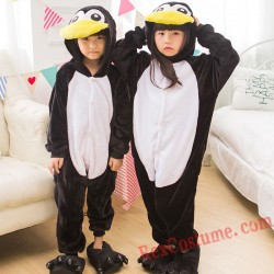 penguin Kigurumi Onesie Pajamas Cosplay Costumes for Kids