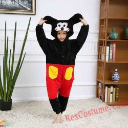 Mickey Kigurumi Onesie Pajamas Cosplay Costumes for Kids