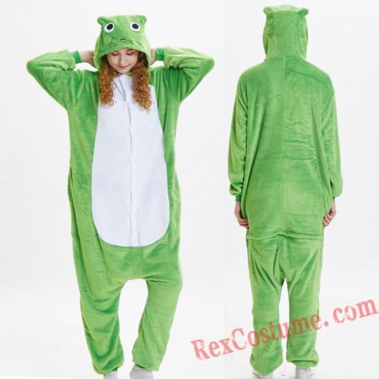 Adult frog Kigurumi Onesie Pajamas Cosplay Costumes
