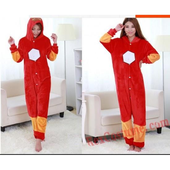 Adult Iron Man Kigurumi Onesie Pajamas Cosplay Costumes