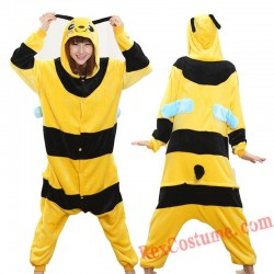 Adult bee Kigurumi Onesie Pajamas Cosplay Costumes