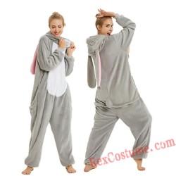 Adult bunny Kigurumi Onesie Pajamas Cosplay Costumes