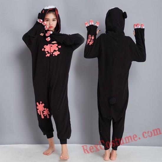 Adult Violent bear Kigurumi Onesie Pajamas Cosplay Costumes