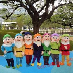 Seven Dwarfs Mascot Costume For Adults