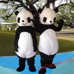 Panda Mascot Costume For Adults