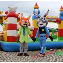 Judy Rabbit Zootopia Mascot Costume For Adults