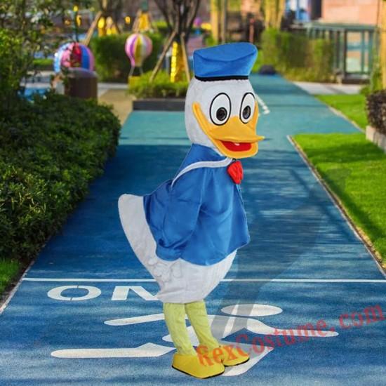 Disney Donald Duck Mascot Costume For Adults