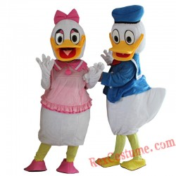 Disney Donald Duck Mascot Costume For Adults