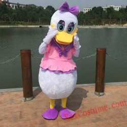 Disney Donald Duck Daisy Duck Mascot Costume For Adults