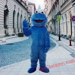 Cookie Elmo Monster Mascot Costume For Adults