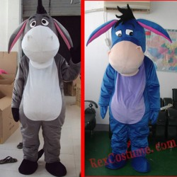 Donkey Mascot Costume For Adults