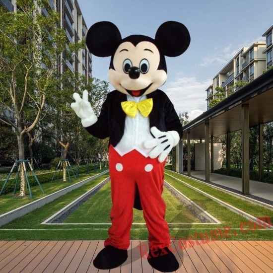 Disney Mickey Mouse Mascot Costume For Adults