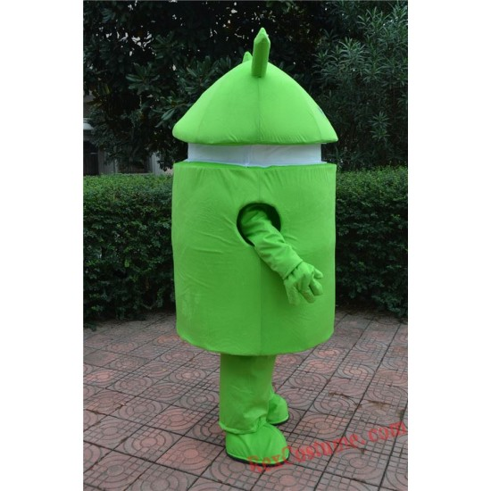 Android Robot Mascot Costume For Adults