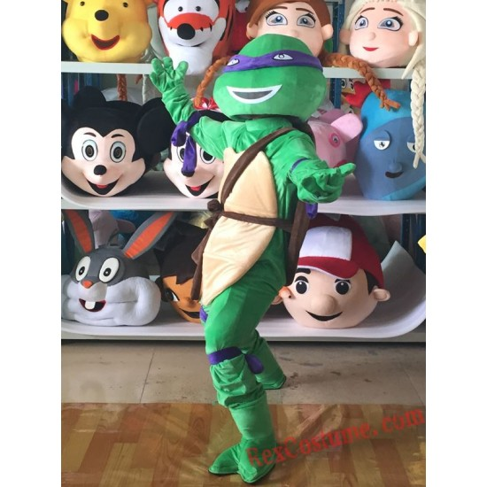Endure The Tortoise Mascot Costume For Adults