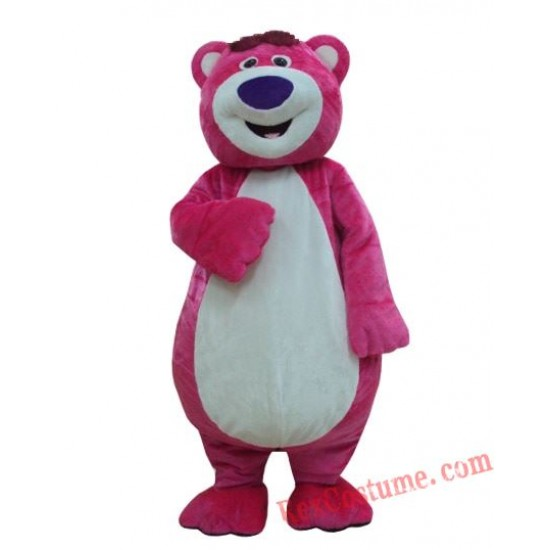 Bear Lotso Mascot Costume