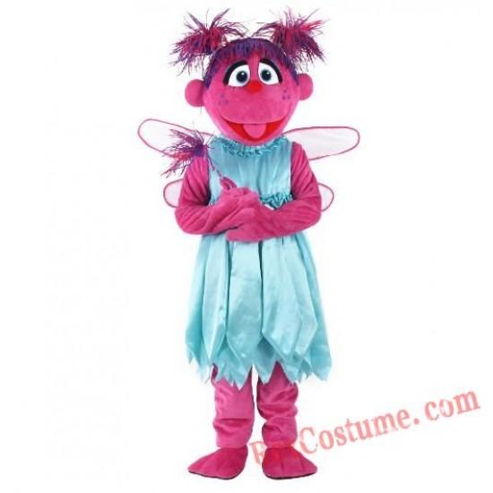 Abby Cadabby Sesame Street Abby Mascot Costume
