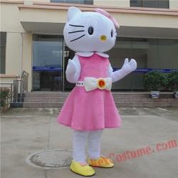 Hello Kitty Mascot Costume