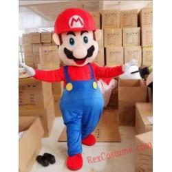 High Quality Helmet Rapid Mario Mascot Costumes Unisex