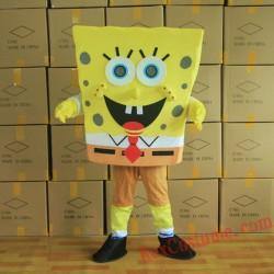 Cartoon Character Spongebob Adult Mascot Costume