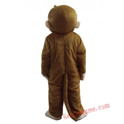 George Monkey Mascot Costumes for Adult