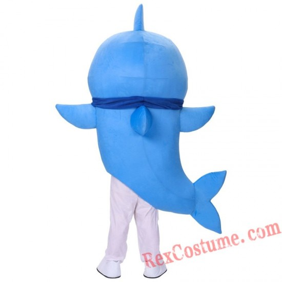 Baby Shark Mascot Costume Cartoon Character