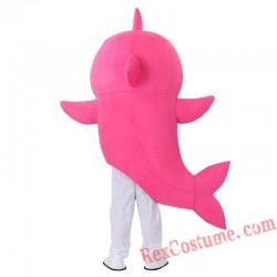 Baby Shark Mascot Costume Cartoon Character