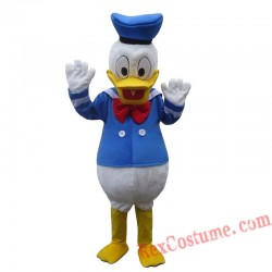 High Quality Adult Donald And Daisy Mascot Costume