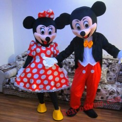 Disney Mickey / Minnie Mouse Mascot Costume for Adult