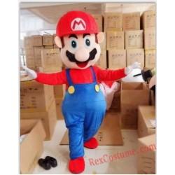High Quality Helmet Rapid Mario Mascot Costumes Unisex Cartoon