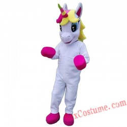 Unicorn / Horse Mascot Costume for Adult