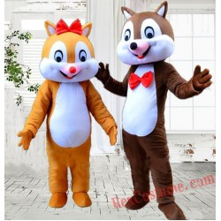 Chipmunk Mascot Costume Squirrel Cartoon Costume for Adult