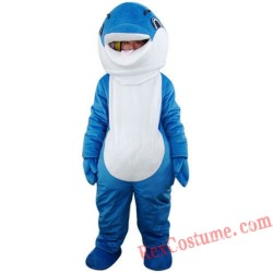 Dolphin Sea Animal Mascot Costume for Adult