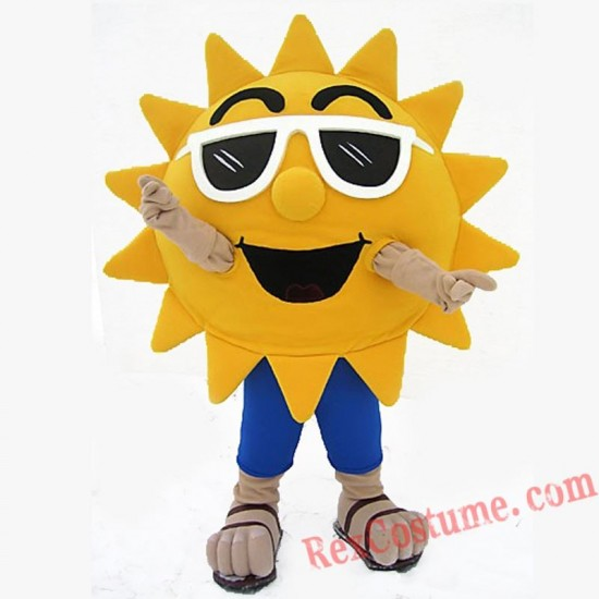 Sun Mascot Costume Suits Cosplay Outfits for Adult