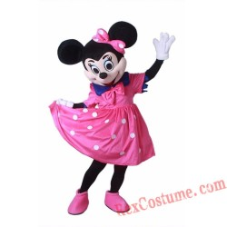 Disney Minnie Mouse Mascot Costume for Adults