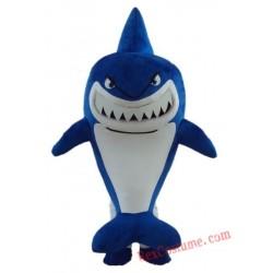 Sea Animal Blue Shark Mascot Costume for Adult