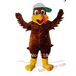Thanksgiving Turkey Mascot Costume for Adult