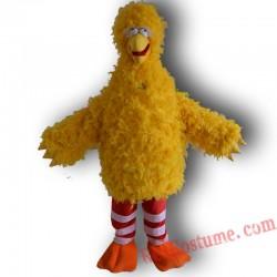 Sesame Street Big Bird Mascot Costume for Adult
