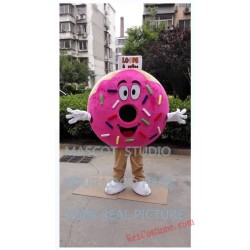 Donut Mascot Costume Pancake Food Costume for Adult