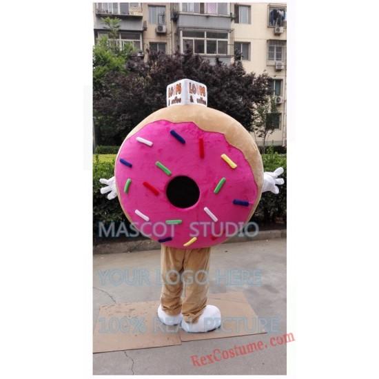 Donut Mascot Costume Pancake Food Costume for Adult