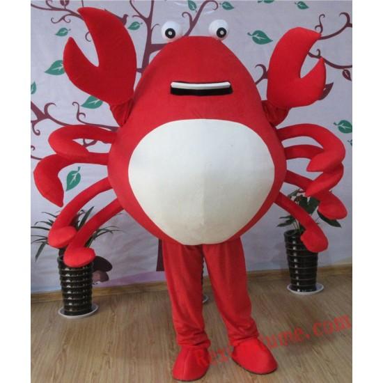 Crab Mascot Costume for Adult
