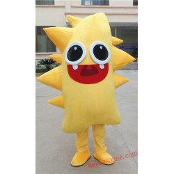 Sea Cucumber Mascot Costume for Adult