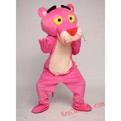 Pink Panther Mascot Costume for Adult